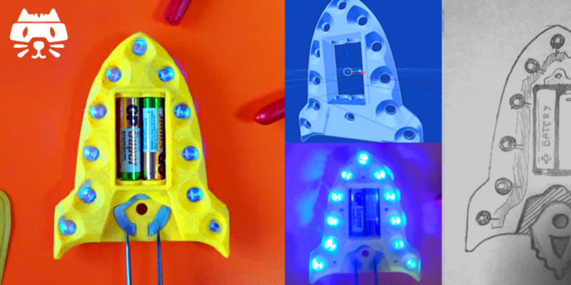Make your own night light for kids